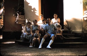 Blaufarb Family with My Mother and Me Behind Them