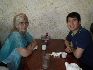 A meal with Leon at San Felipe
