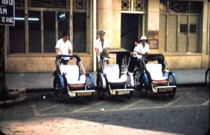 Cyclo Drivers, Saigon 1957
