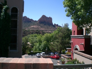 Red rock Tower